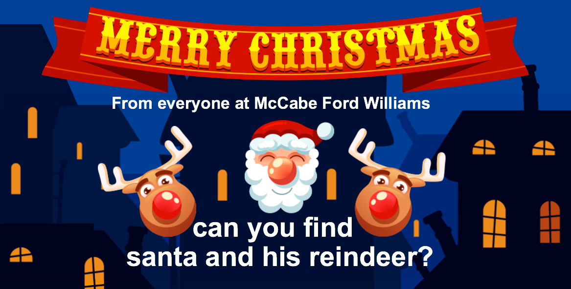 The McCabe Ford Williams Christmas game